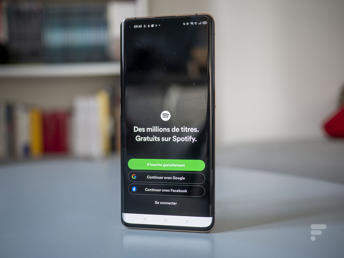 Spotify now allows you to connect with your Google account