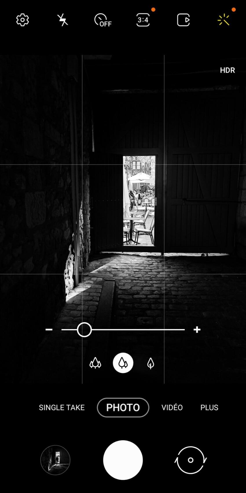 L'important ici est de bien sous-exposer la photo à la prise de vue afin d'obtenir l'effet escompté. Surtout, n'hésitez pas à tendre vers du vrai noir ou du vrai plan!