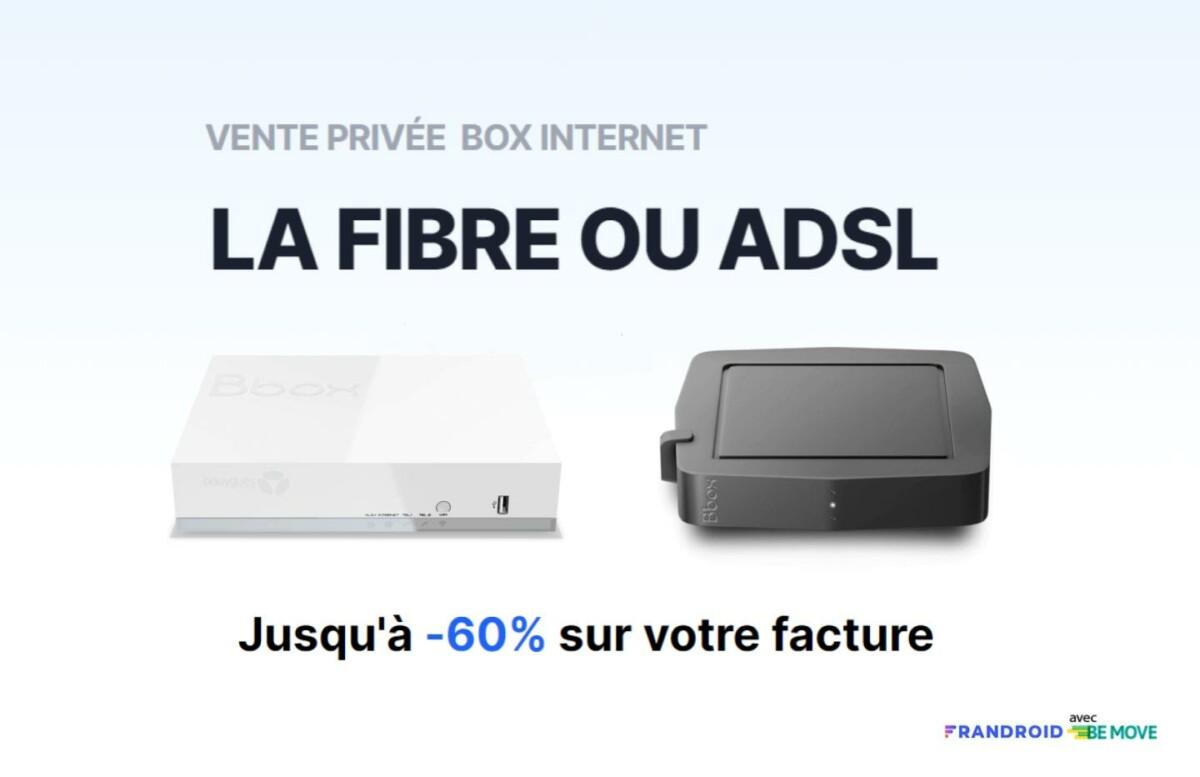 La vente privée Fibre/ADSL de Bouygues Telecom est prolongée jusqu'à la fin du mois