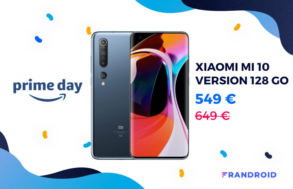 xiaomi mi 10 version 128 go prime day 2020 1200x777 - 128GB version of Xiaomi Mi 10 drops to € 549 for Amazon Prime Day - Frandroid