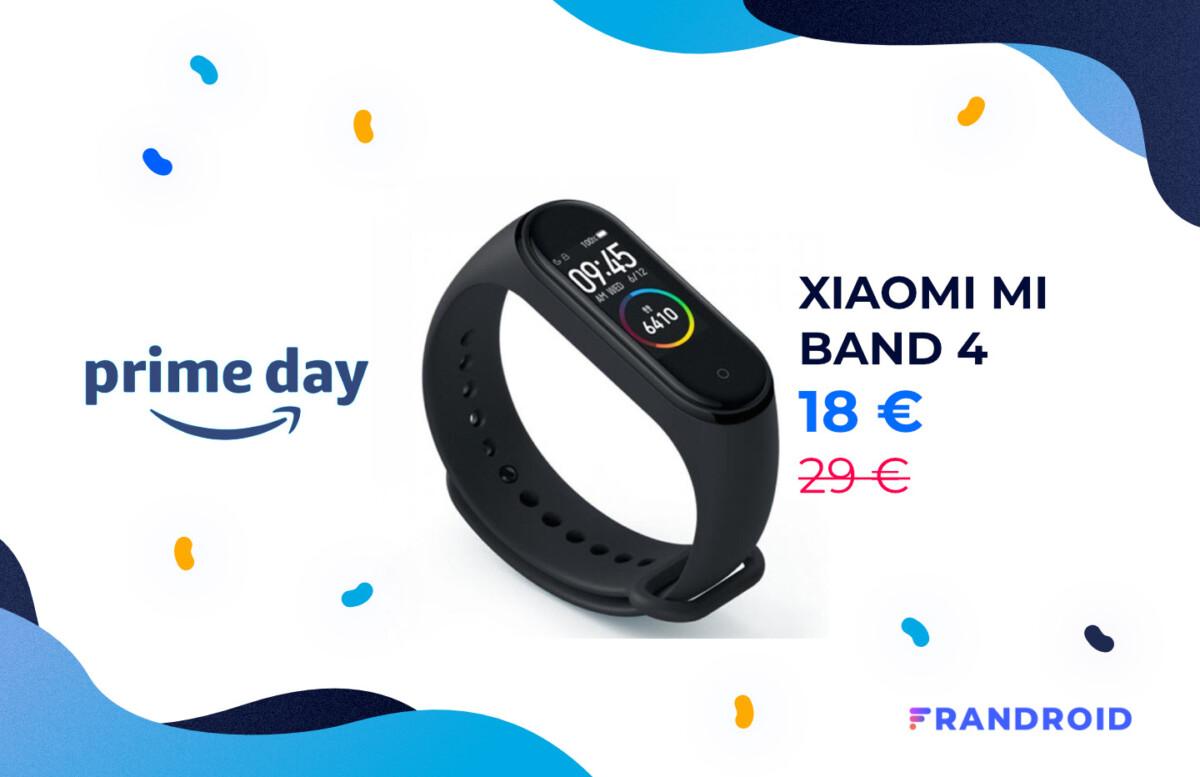 Pour le Prime Day, le bracelet Xiaomi Mi Band 4 est à 18 euros