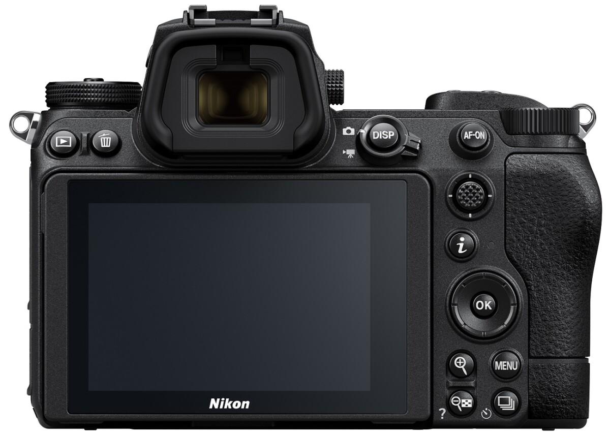 Le dos du Nikon Z7 II