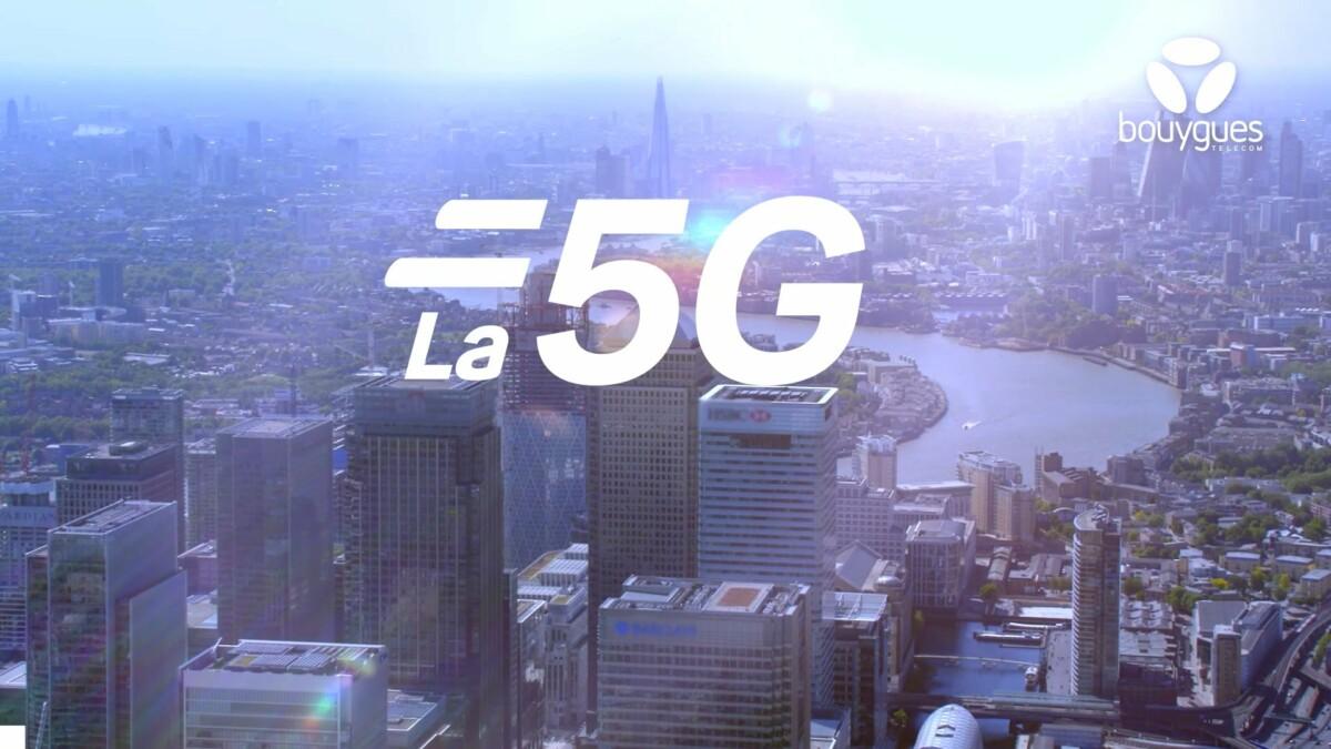 Logo 5G Bouygues Telecom