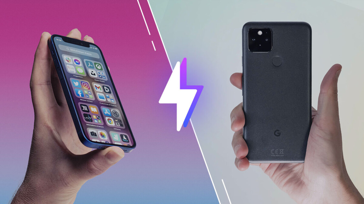 iPhone 12 mini Google Pixel 5 versus