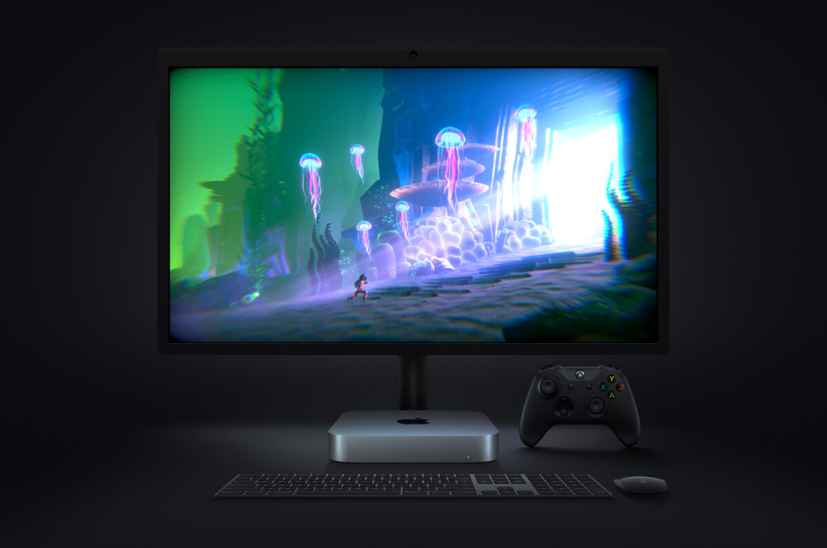 Le nouveau Mac mini M1 peut gérer un écran externe 6K