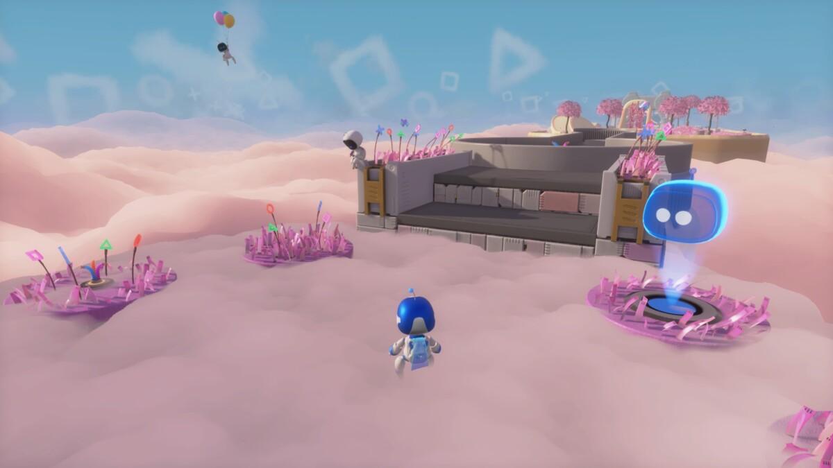 Astro's Playroom ne se pose pas la question du dématérialisé ou non, il est embarqué sur les deux PS5