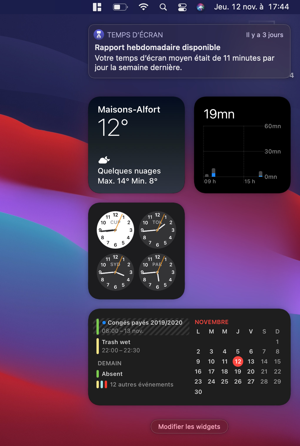Widgets and notifications are here