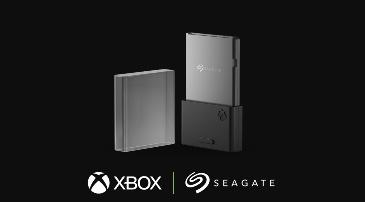 Storage expansion card for Xbox Series X and Series S