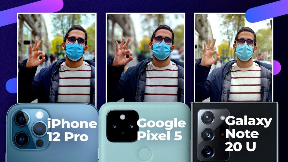 Comparatif photo iPhone 12 Pro, Galaxy Note 20 Ultra Pixel 5