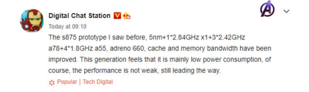 Snapdragon 875 : un cœur surpuissant Cortex-X1 et la gravure en 5 nm seraient au menu