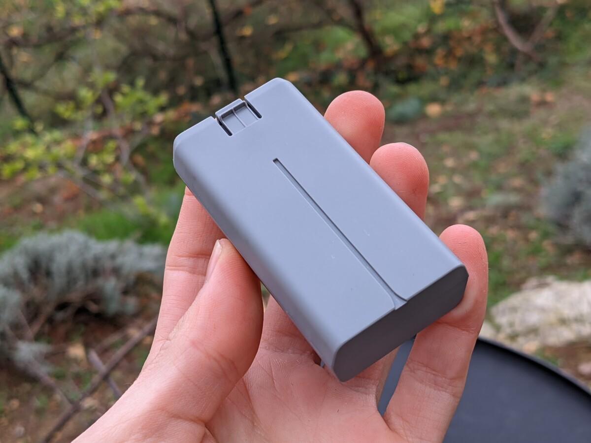 La batterie du Mini 2