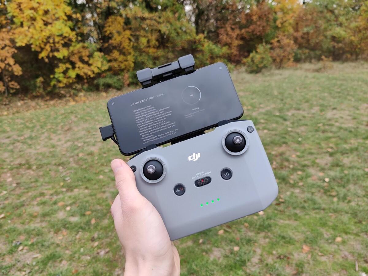 La radiocommande du Mini 2