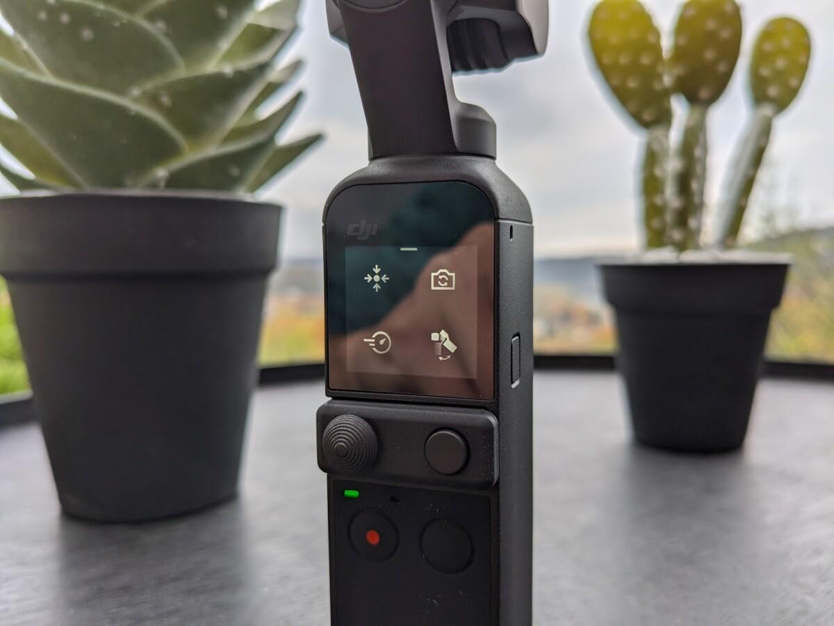 L'écran de la Pocket2