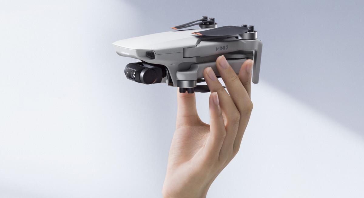 The DJI Mini 2 drone