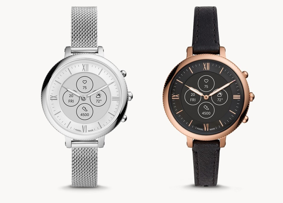 The Fossil Hybrid Monroe HR watch