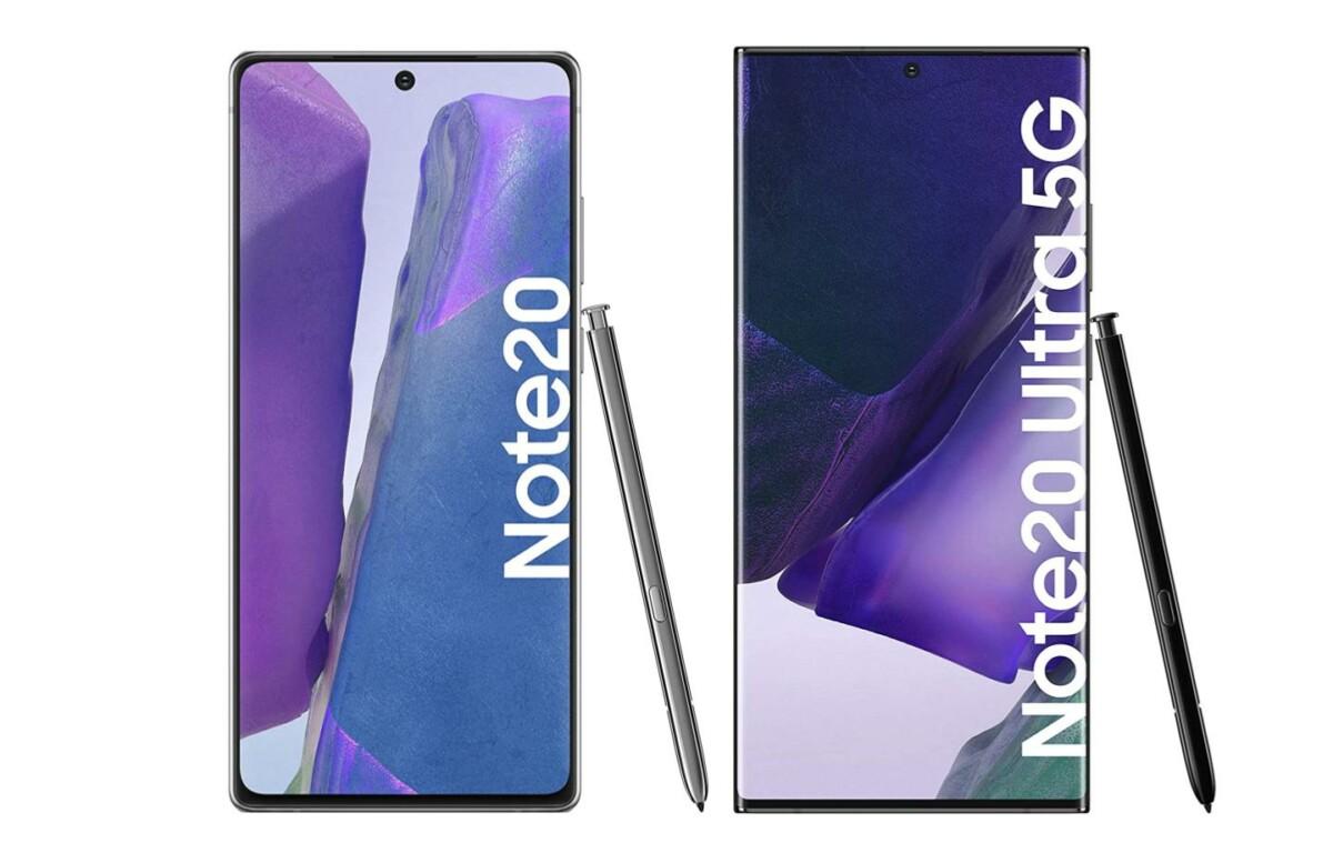 Amazon fait chuter le prix des Samsung Galaxy Note 20 et Note 20 Ultra