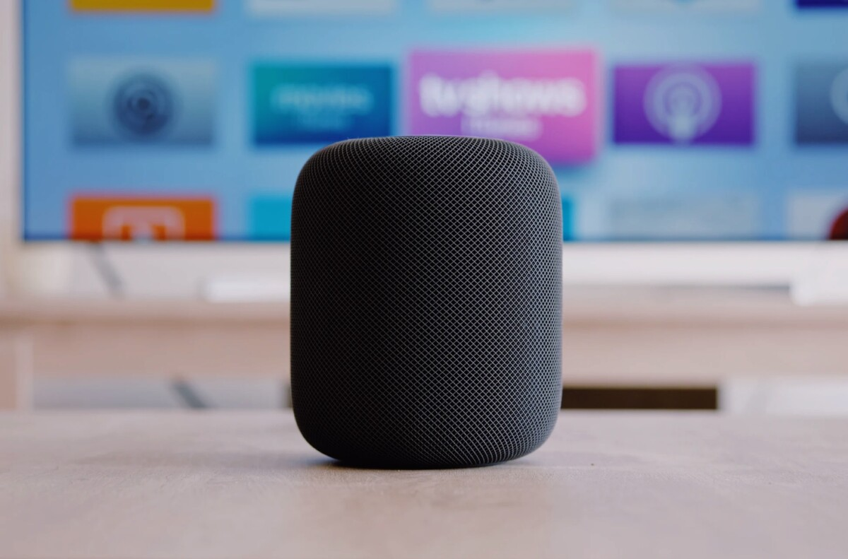 It is now possible to modify the software of the first generation HomePod, using the Checkra1n jailbreak tool