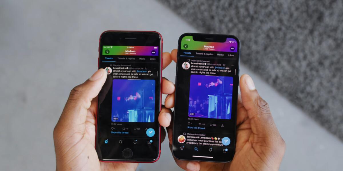 iPhone SE VS iPhone12 mini