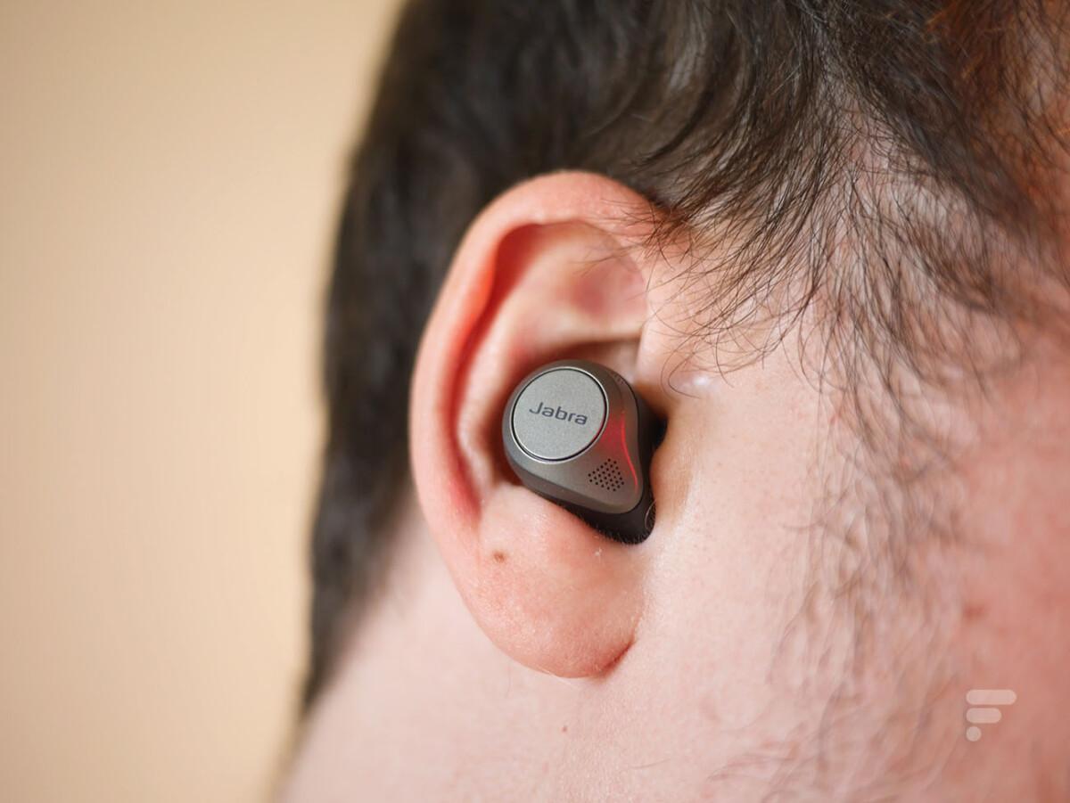 Les écouteurs Jabra Elite 85T sont compatibles aptX classique