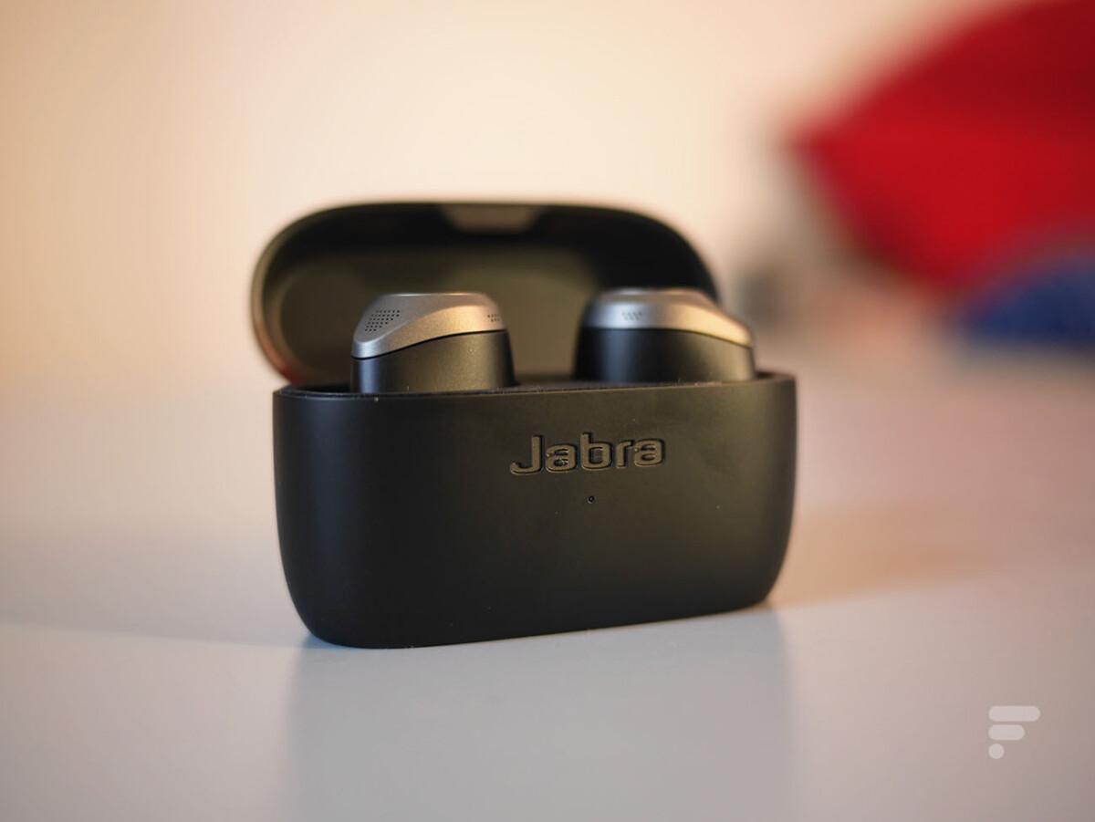 Le boîtier des Jabra Elite 85T