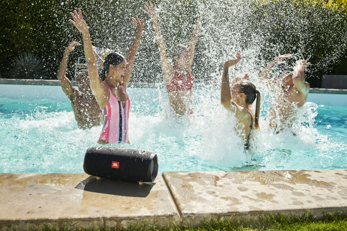 The JBL Xtrem 2 is waterproof.
