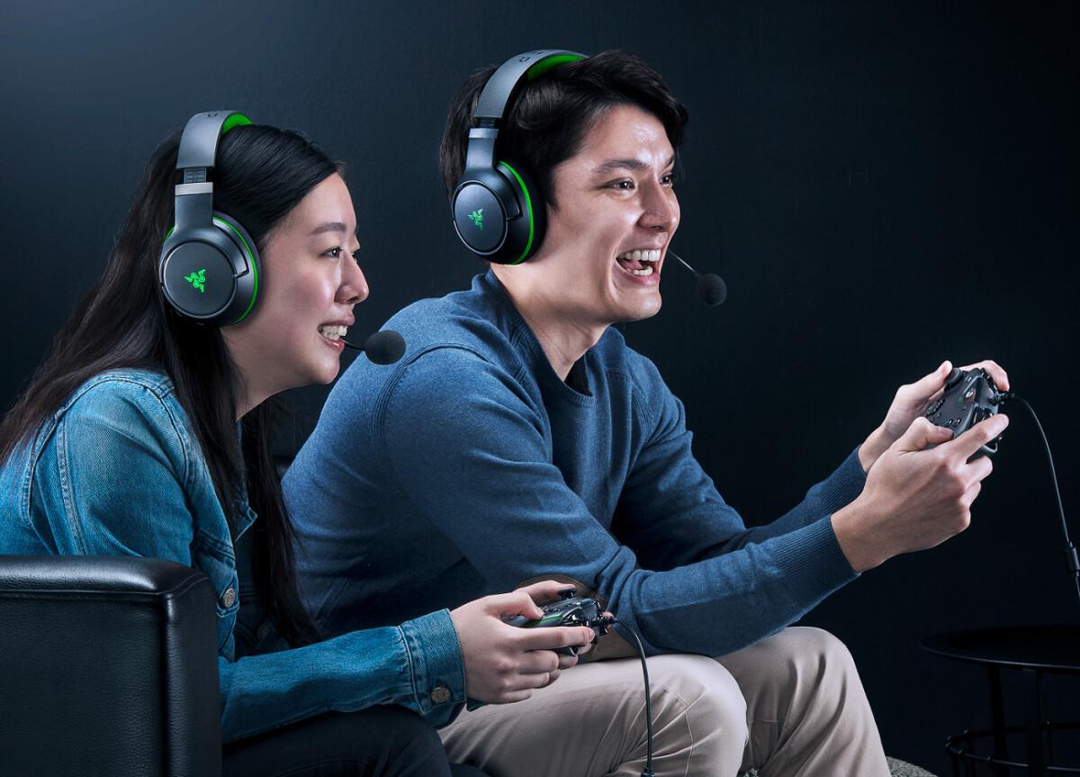 The Razer Kaira Pro headset