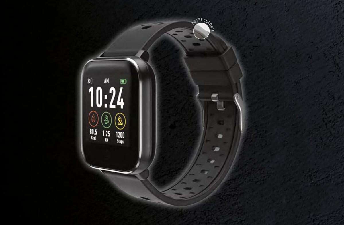 La montre connectée Silvercrest de Lidl
