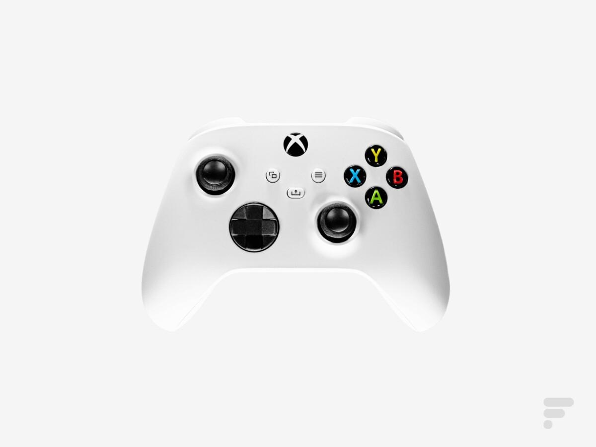 La manette de Xbox Series S