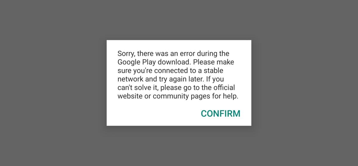 Erreur Google Play sur Mate 40 Pro