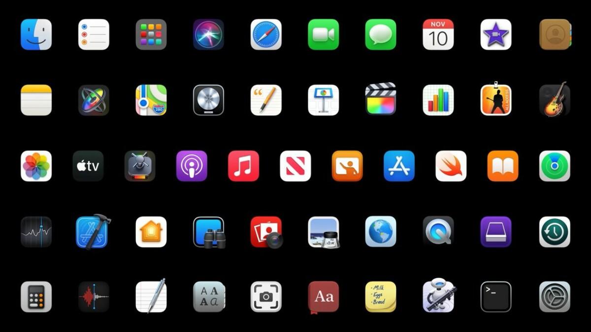MacBook et Mac Mini avec AppleM1: quels sont les logiciels et apps prêts pour la transition?