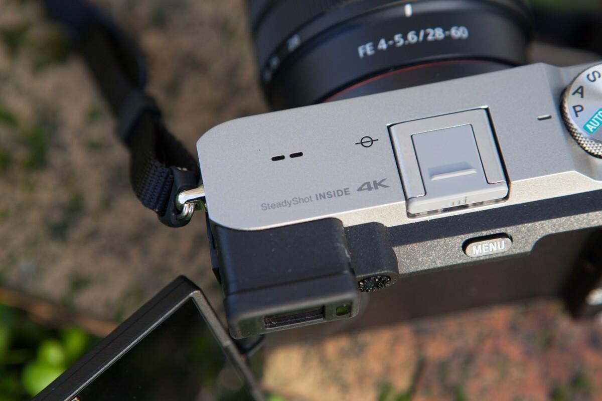 Le viseur du Sony A7C