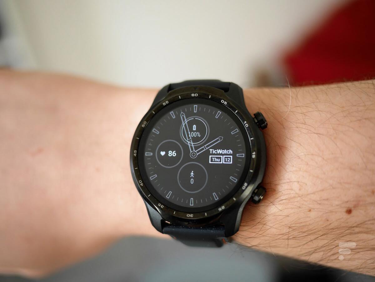 Le mode Always On de la montre TicWatch Pro 3 de Mobvoi