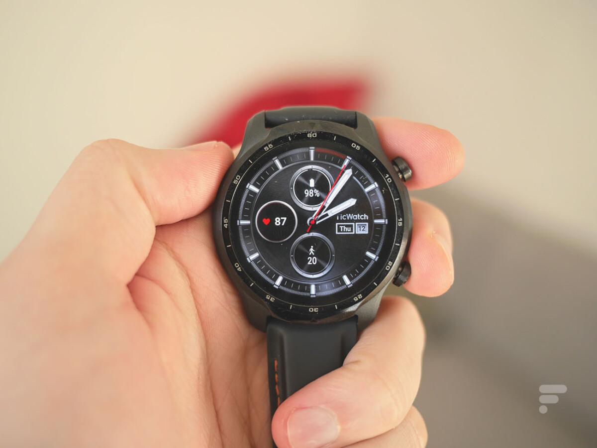 La montre TicWatch Pro3 de Mobvoi