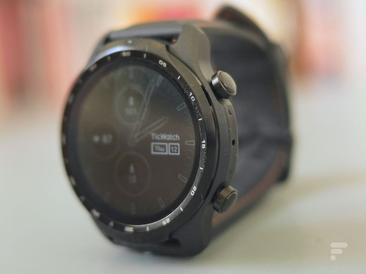 Le mode Always On réduit l'autonomie de la montre TicWatch Pro 3
