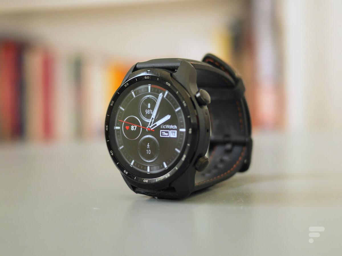 La montre TicWatch Pro 3 de Mobvoi, pour illustration