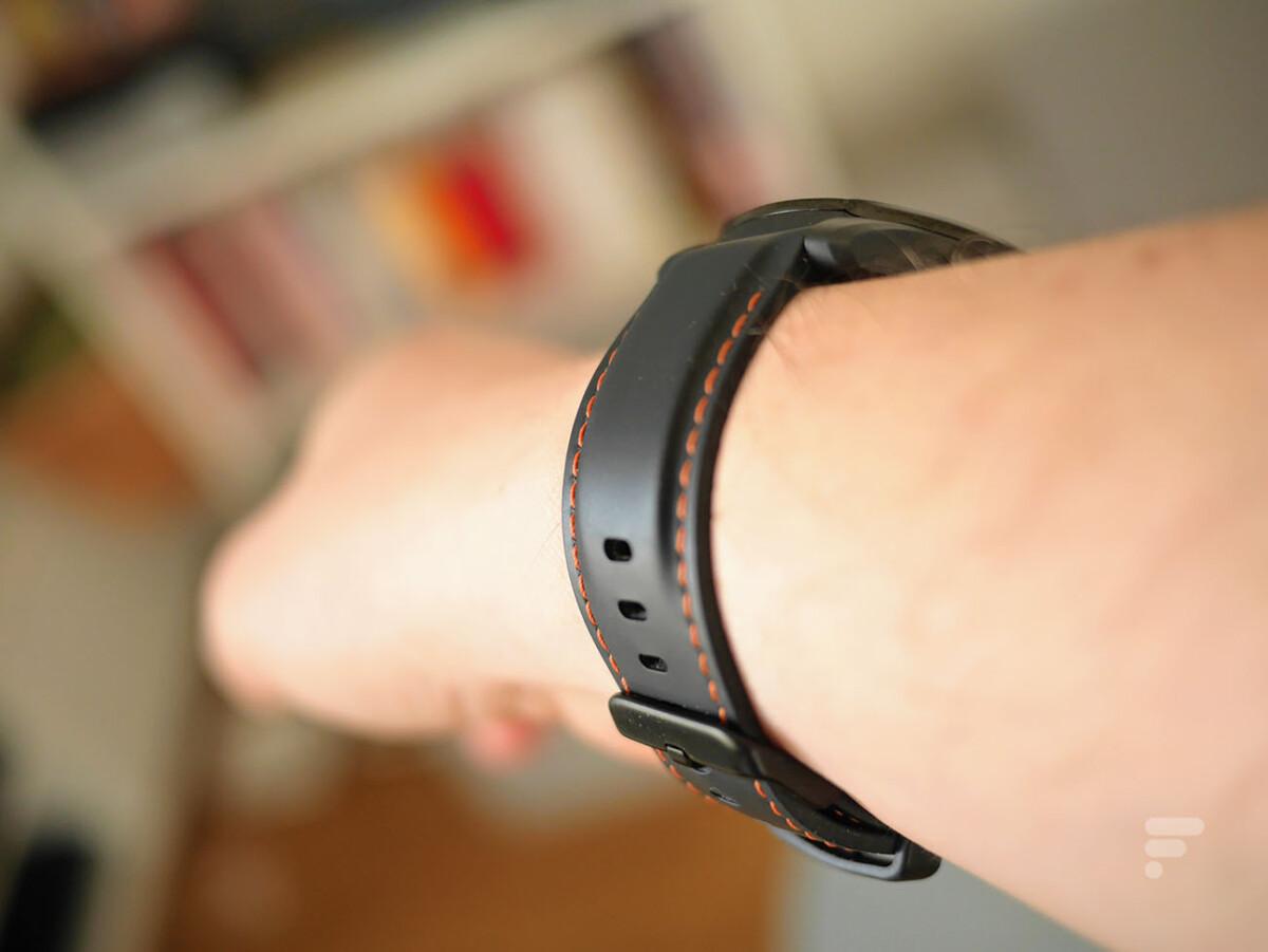 Le bracelet en silicone de la TicWatch Pro 3