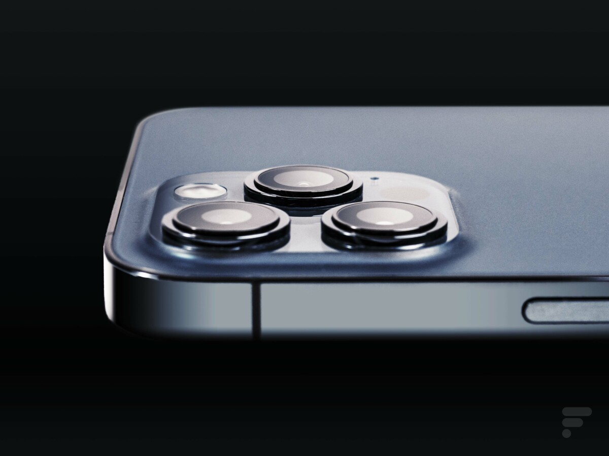 Les trois capteurs photo au dos de l'iPhone 12 Pro Max