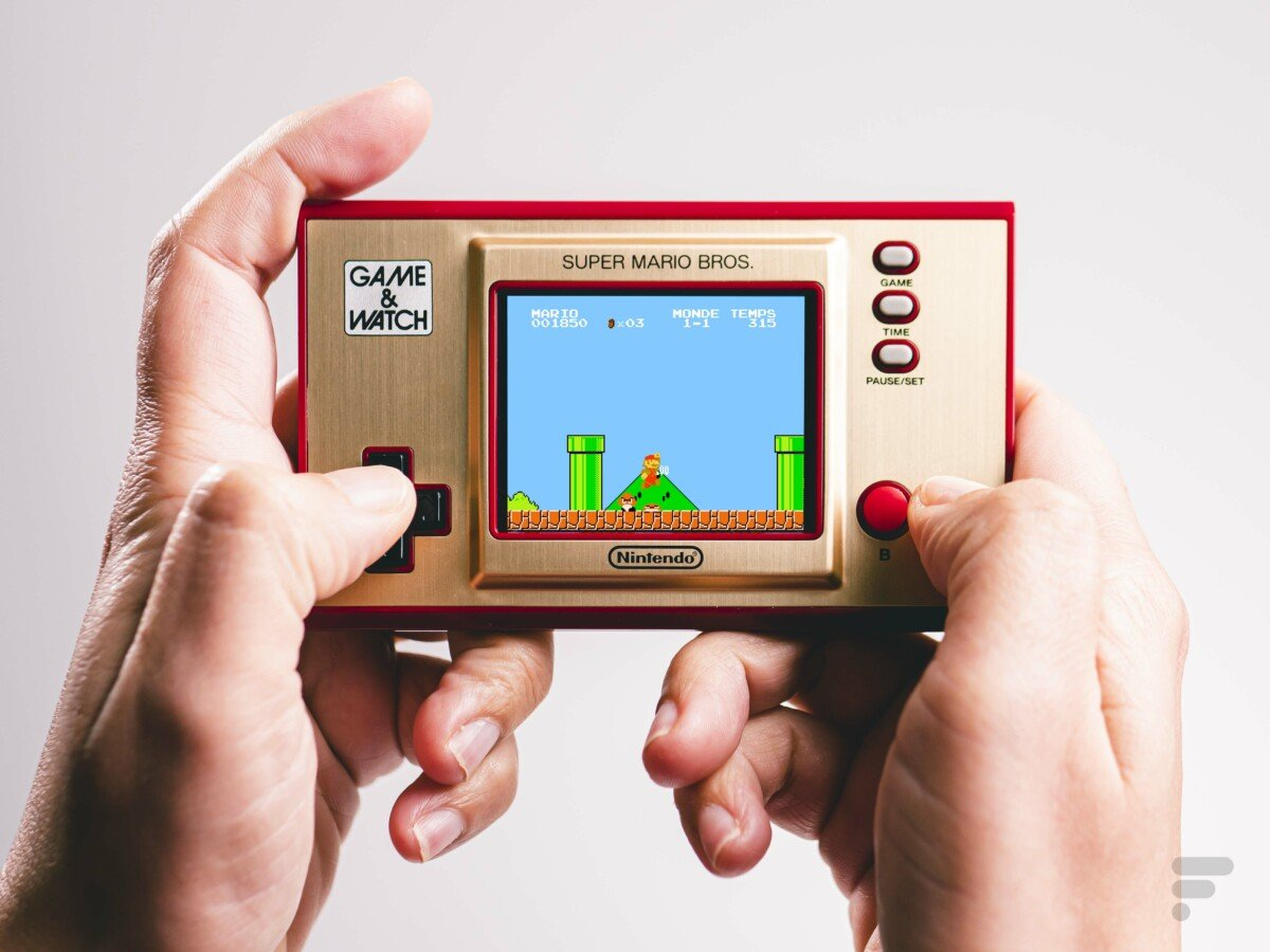 Le retour de la Game and Watch Super Mario Bros