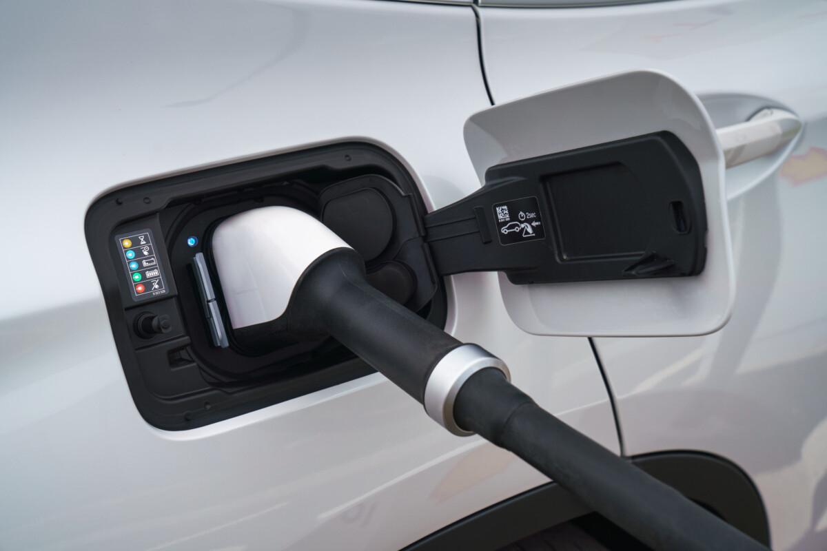 La prise de recharge du BMWiX3