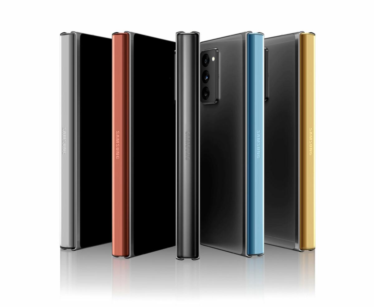 Le Samsung Galaxy Z Fold 2 se plie maintenant avec plus de style