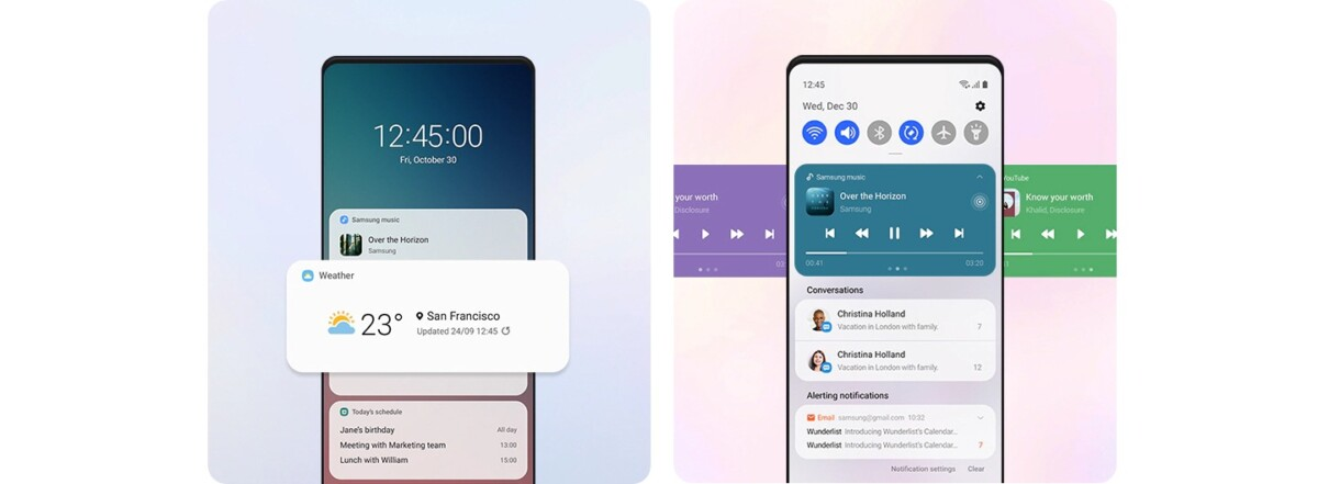 One UI 3.0 : le site officiel de Samsung précise la sortie