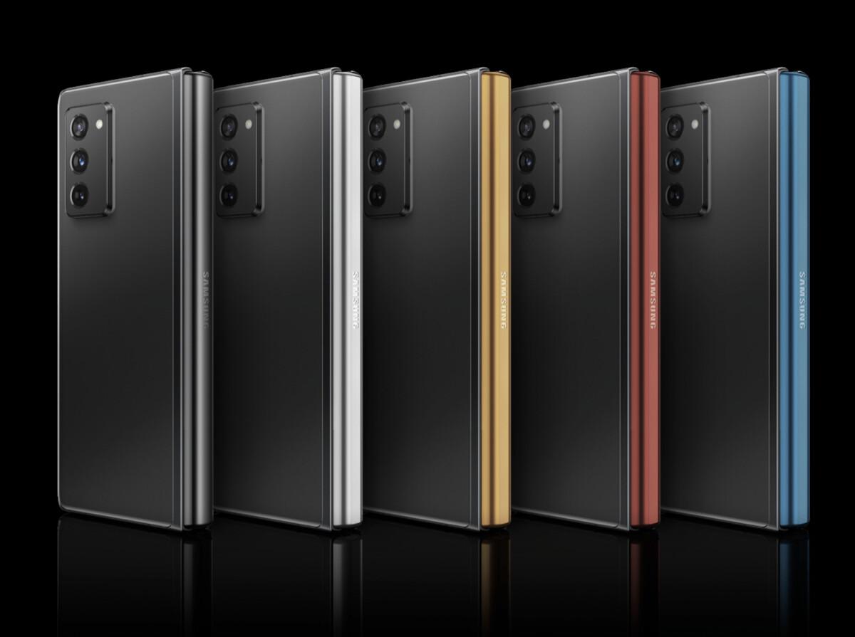 Samsung Galaxy Z Fold 2 avec charnière personnalisée