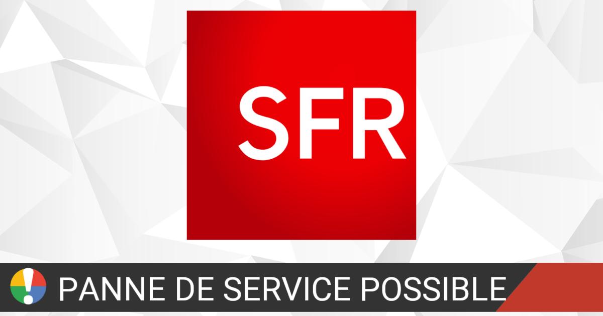 SFR problème Internet fix