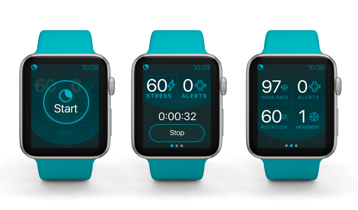 L'application NightWare sur l'Apple Watch
