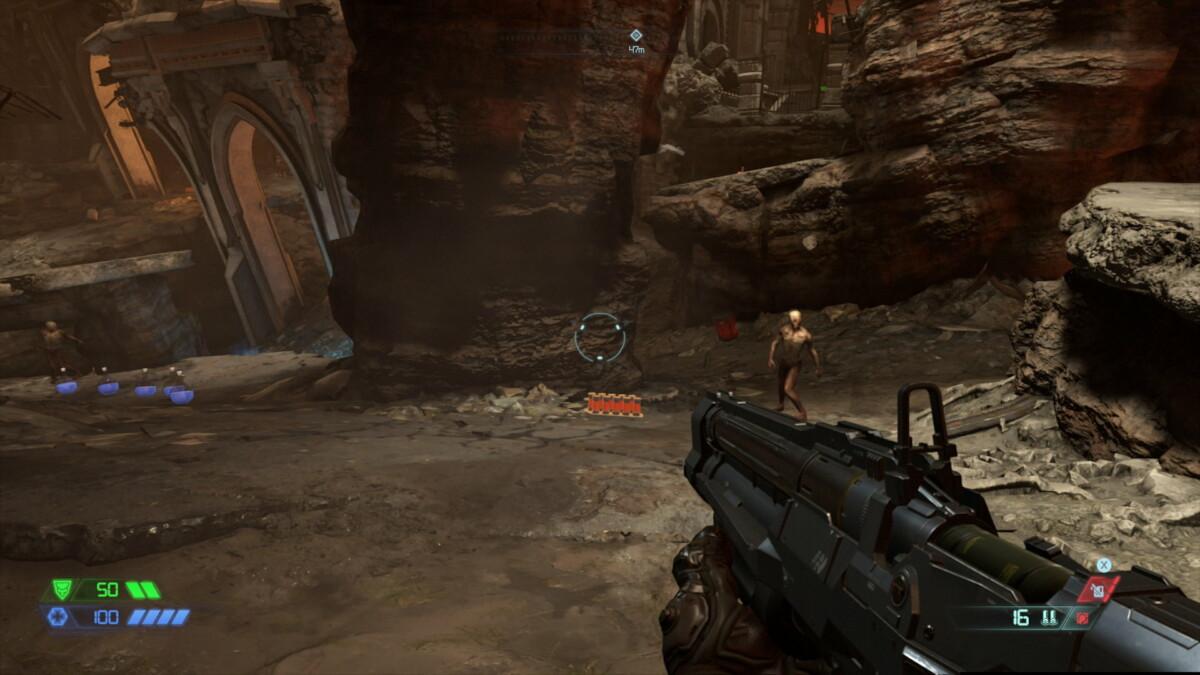 La différence de détails dans Doom Eternal est frappante