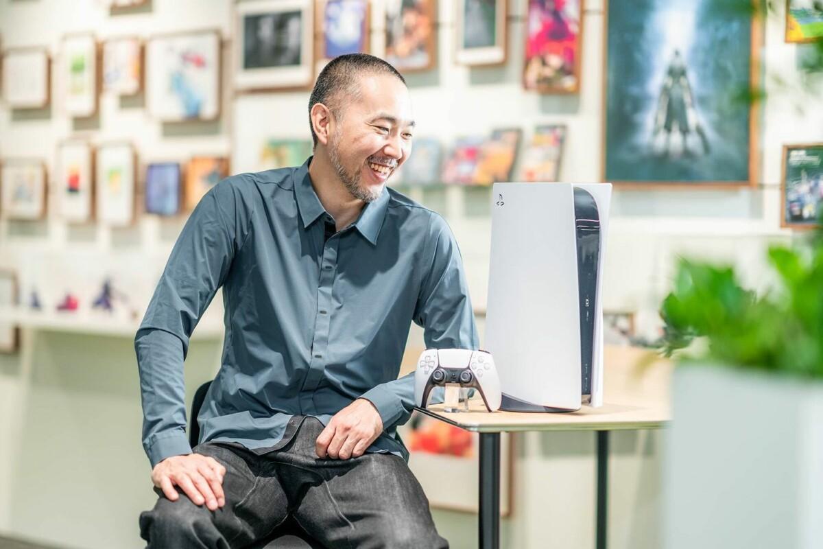 Yujin Morisawa with his creation