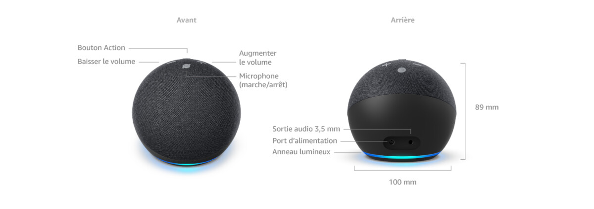 Test de l'Amazon Echo Dot2020: une quatrième génération tout en rondeur