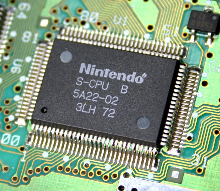 Super Nintendo's Ricoh 5A22: the future on the move!