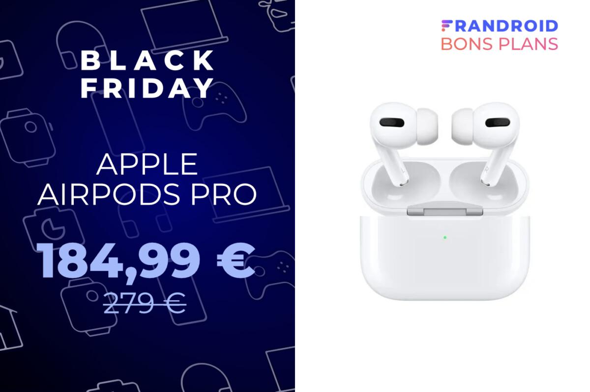 Les excellents AirPods Pro d'Apple chutent sous les 190 € pour le Black Friday