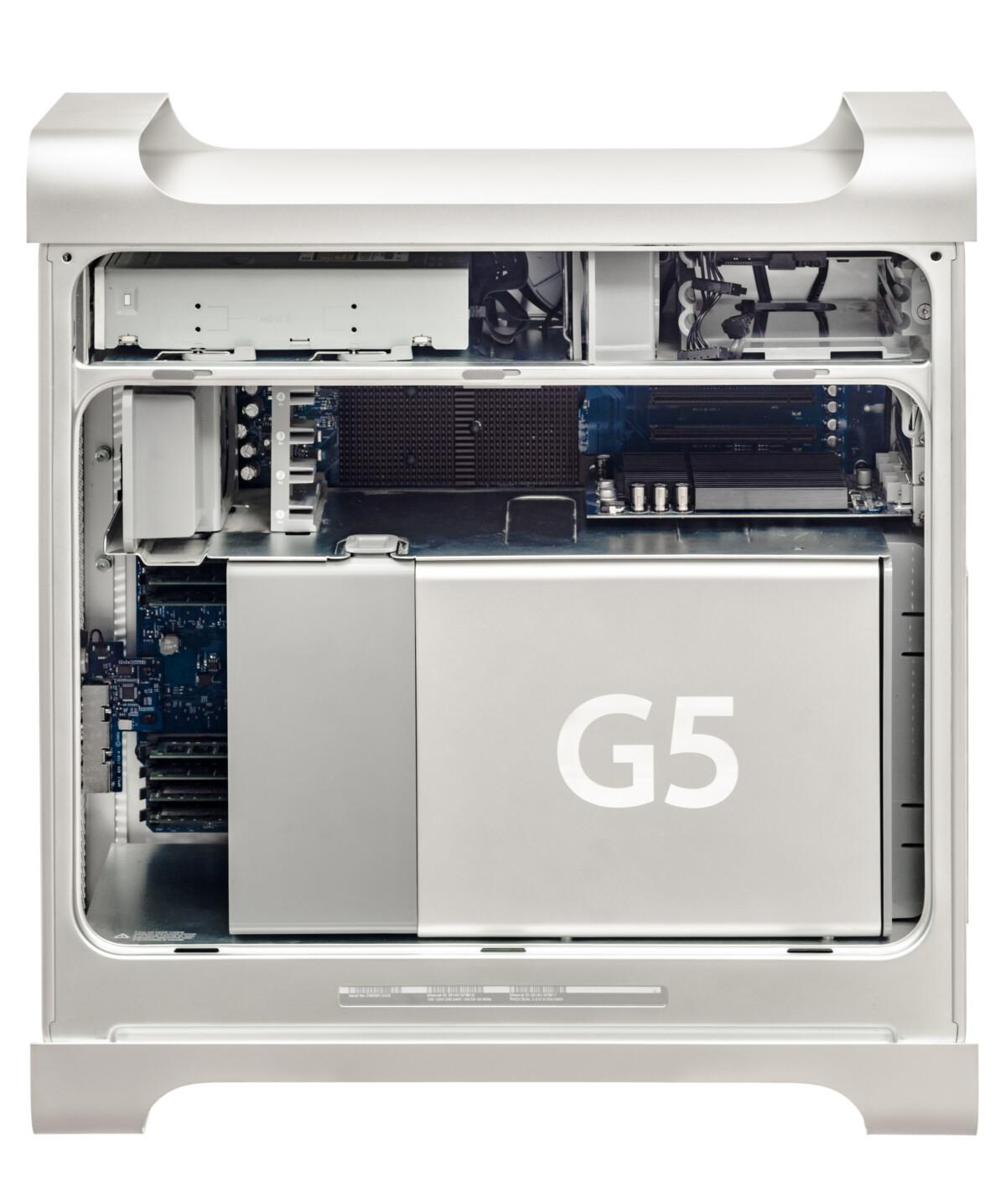 Power Mac G5, last use of PowerPC at Apple